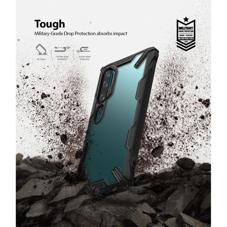 Fusion X Case Xiaomi Mi Note 10/10 Pro Black