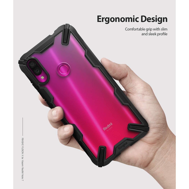 Fusion X Case Xiaomi Redmi Note 7 Black