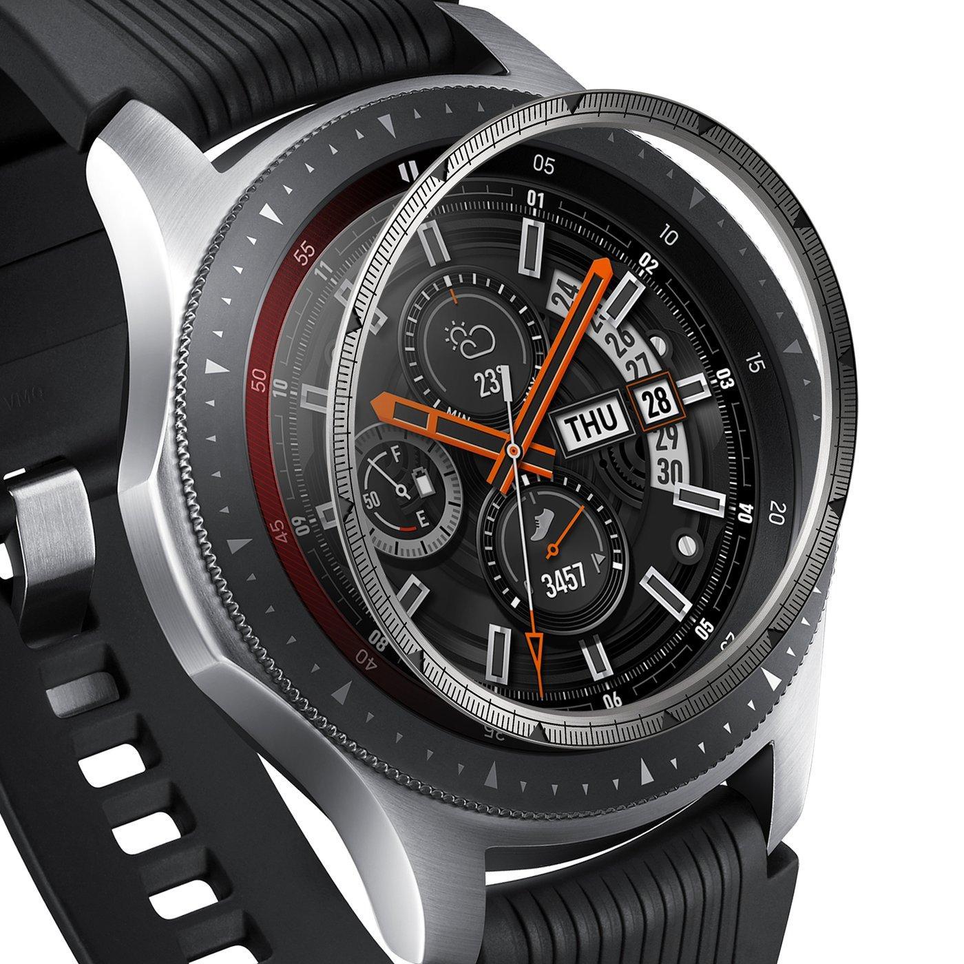 Inner Bezel Styling Galaxy Watch 46mm/Gear S3 Silver