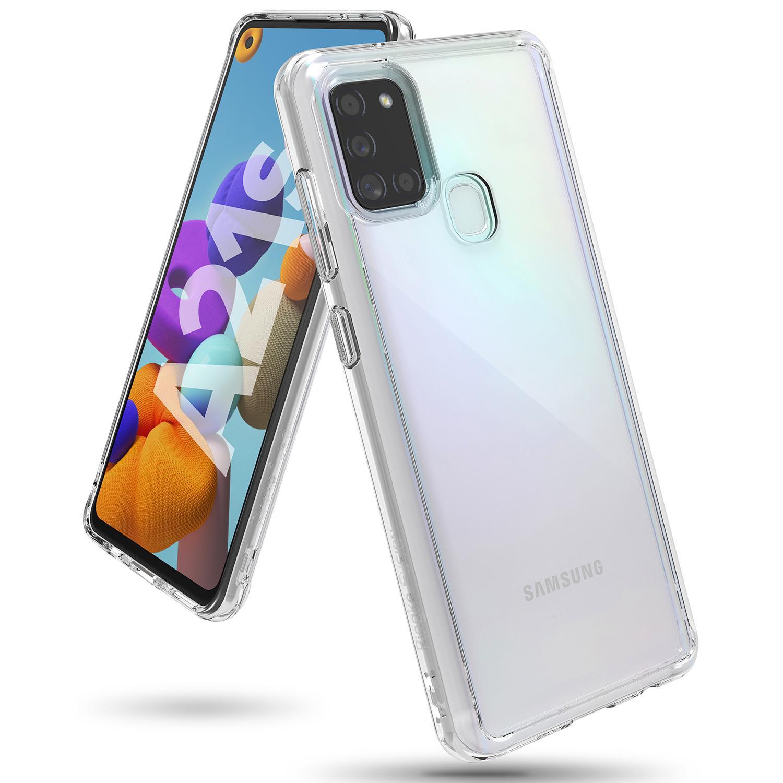 Fusion Case Galaxy A21s Clear