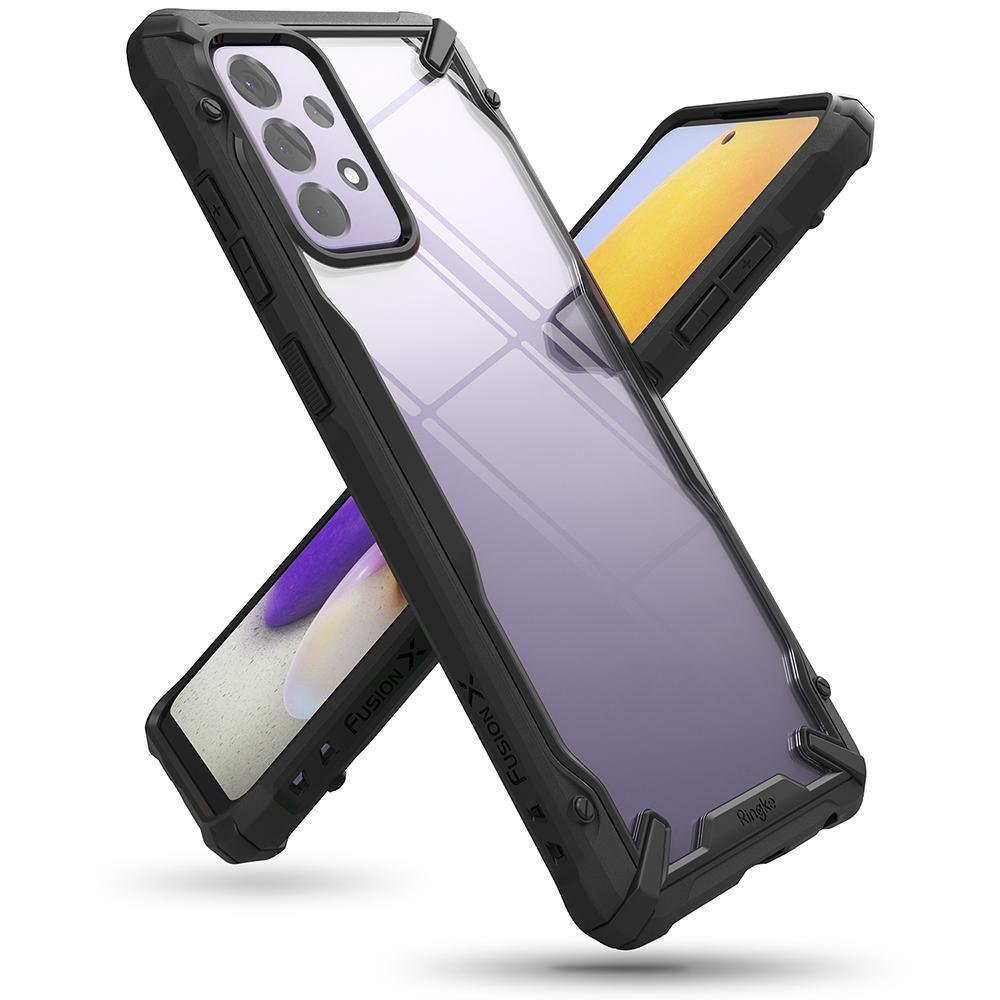 Fusion X Case Galaxy A72 5G Black