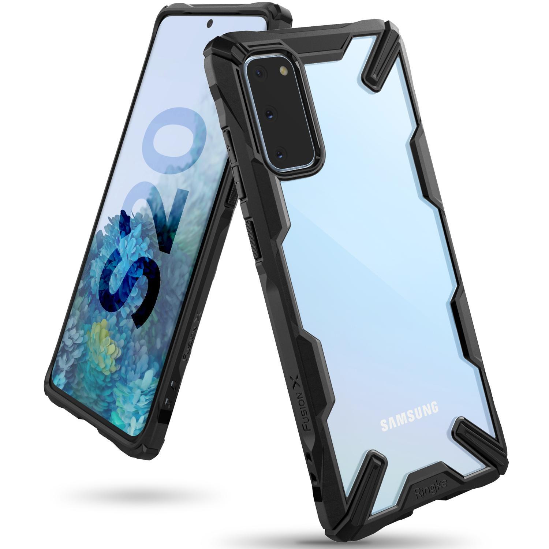 Fusion X Case Galaxy S20 Black