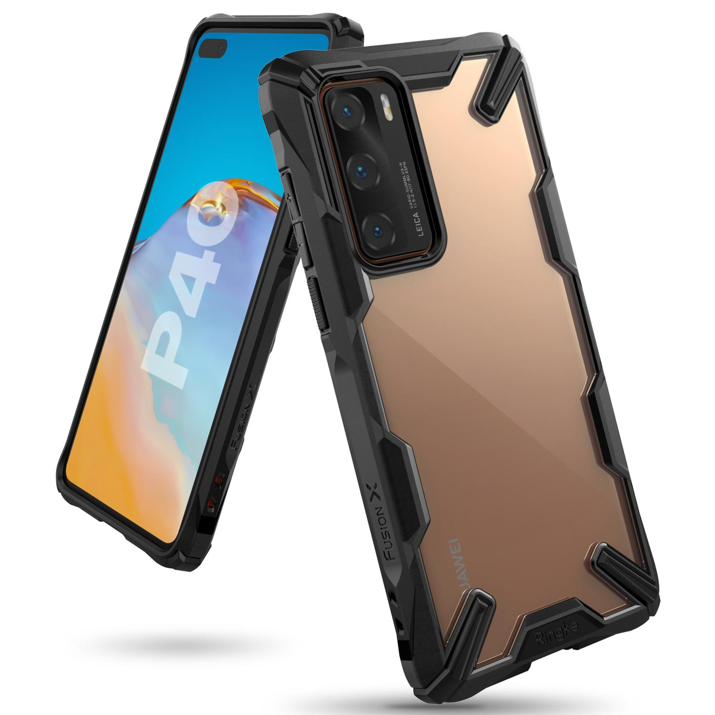 Fusion X Case Huawei P40 Black