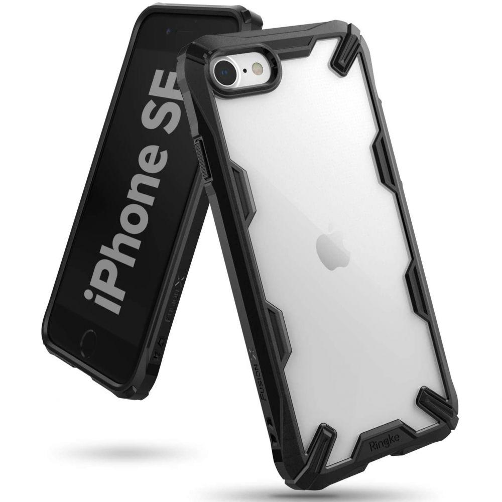 Fusion X Case iPhone SE 2020/8/7  Black