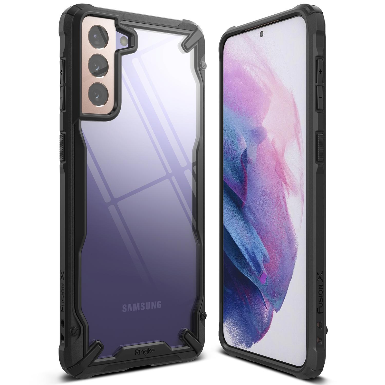Fusion X Case Samsung Galaxy S21 Plus Black