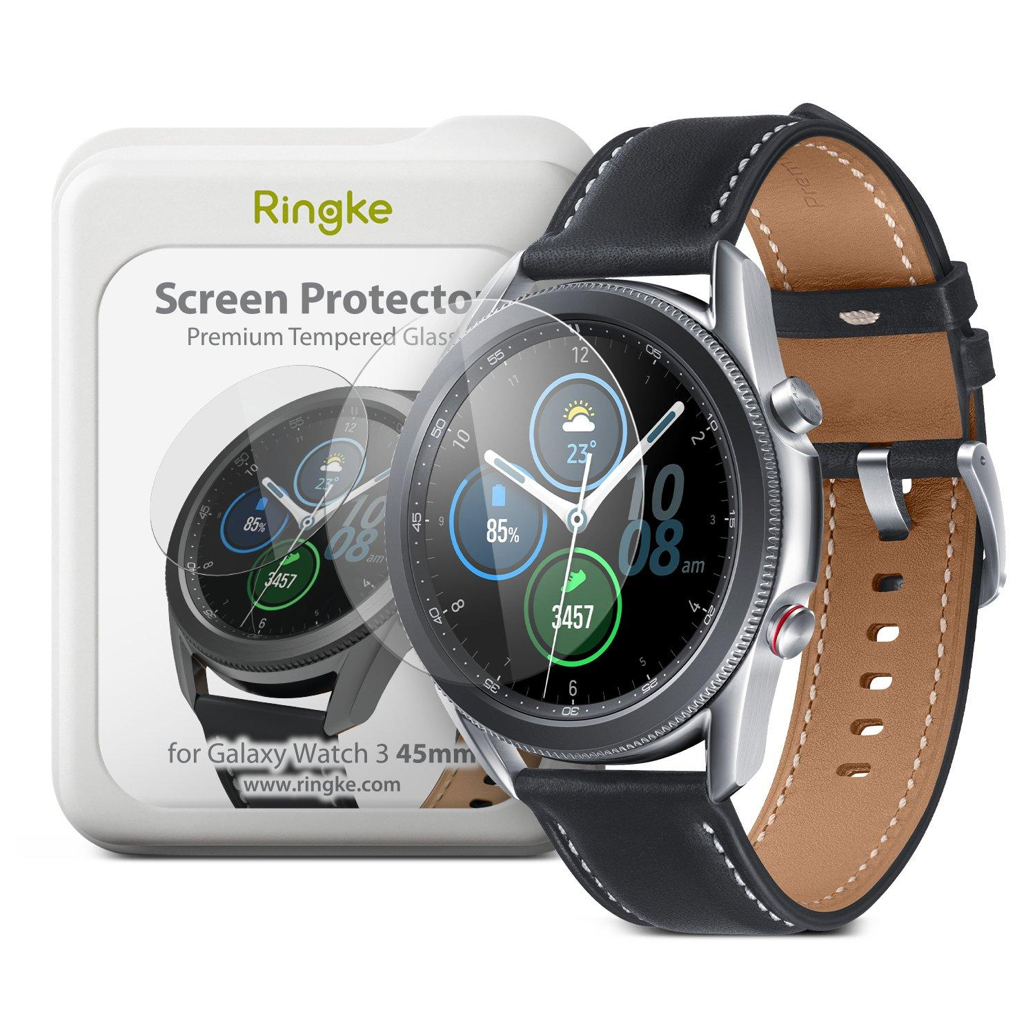 Screen Tempered Glass Galaxy Watch 3 45mm (4-pack)