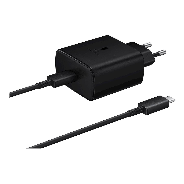 Puhelimen Laturit Fast Charge 45W USB-C musta