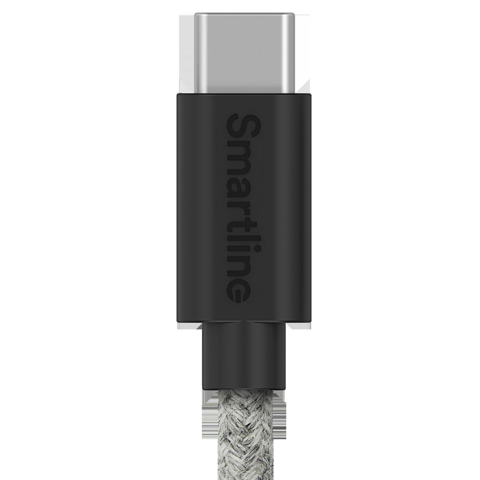 Fuzzy USB Cable USB-C 2m Grey