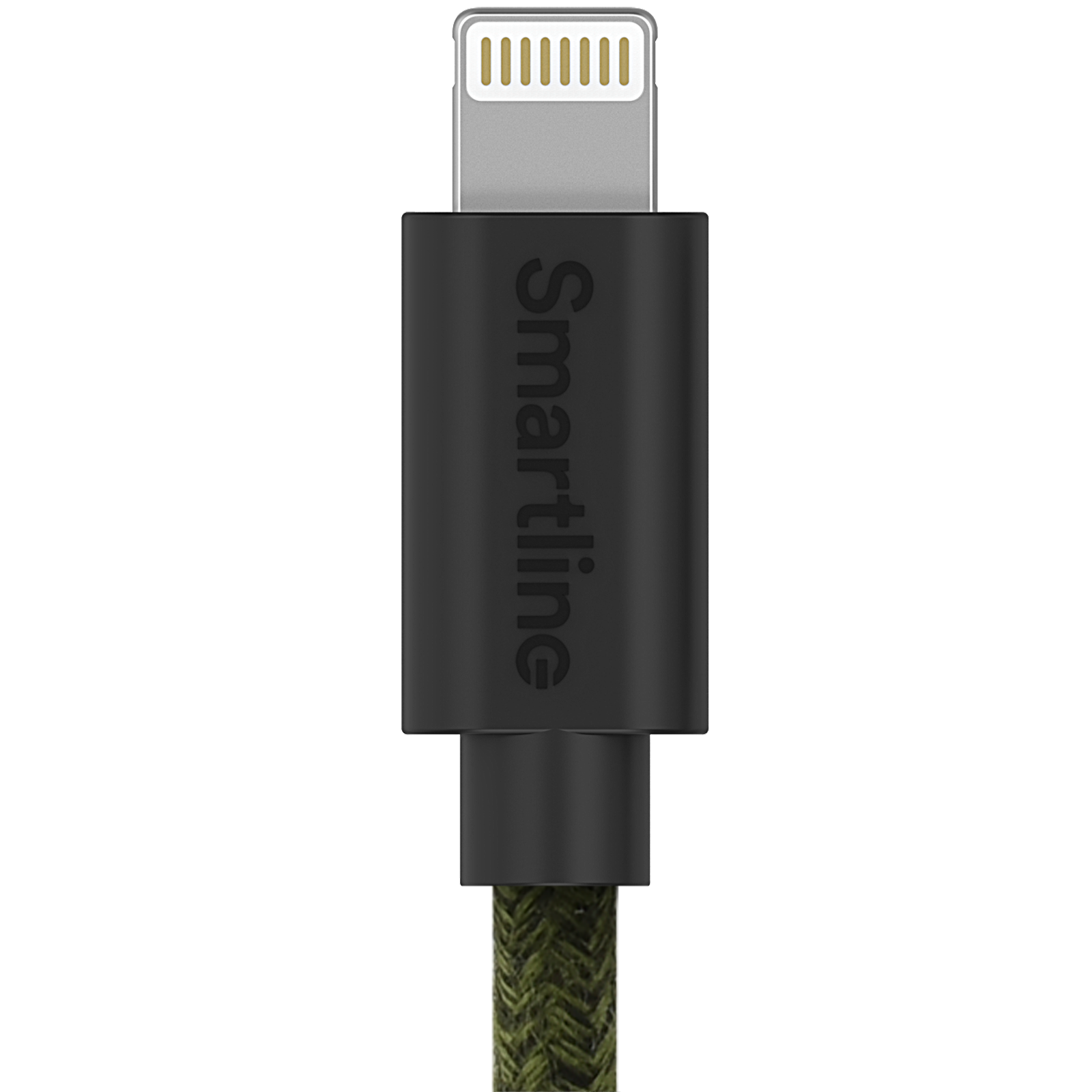 Fuzzy USB Cable Lightning 2m Green