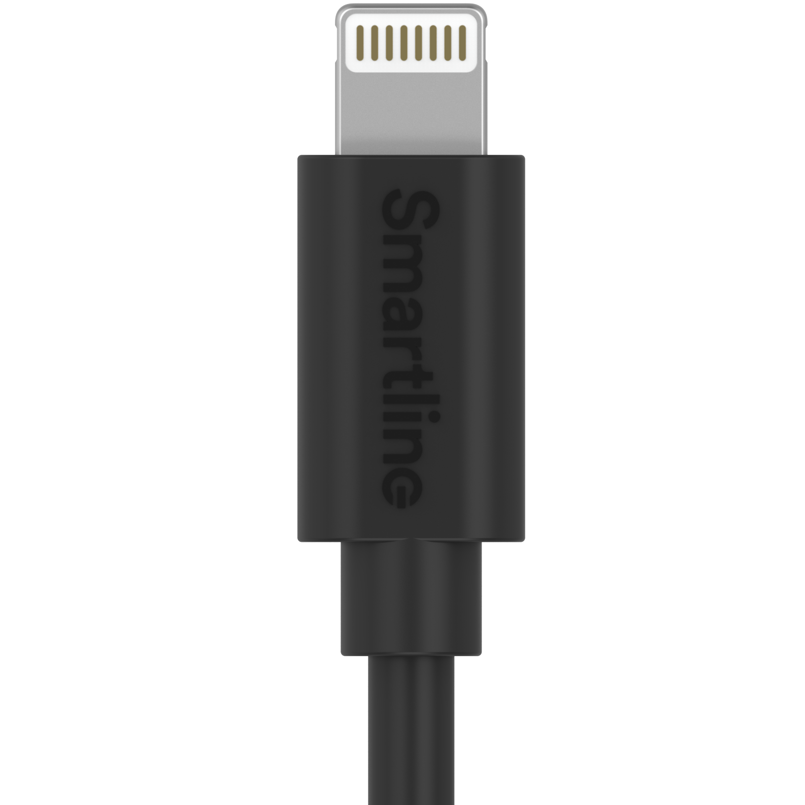 USB Cable Lightning 2m musta