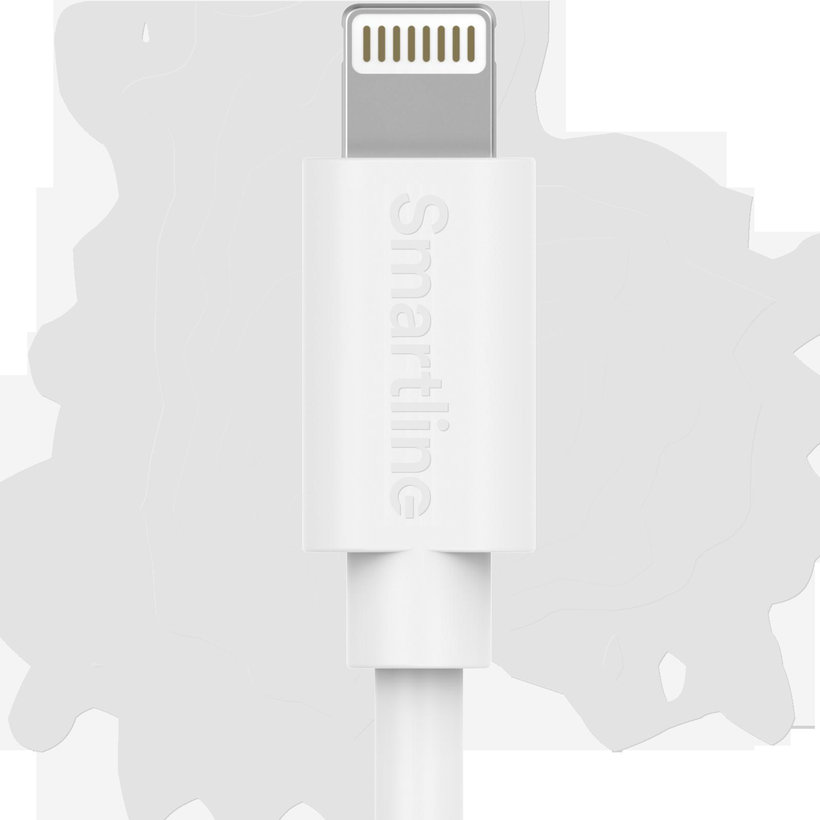 USB Cable Lightning 2m valkoinen
