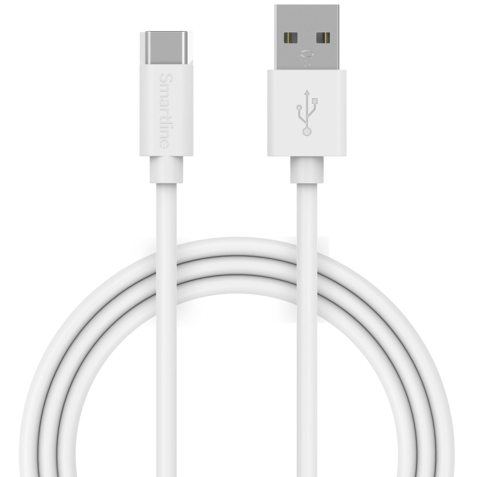 USB Cable USB-C 2m valkoinen