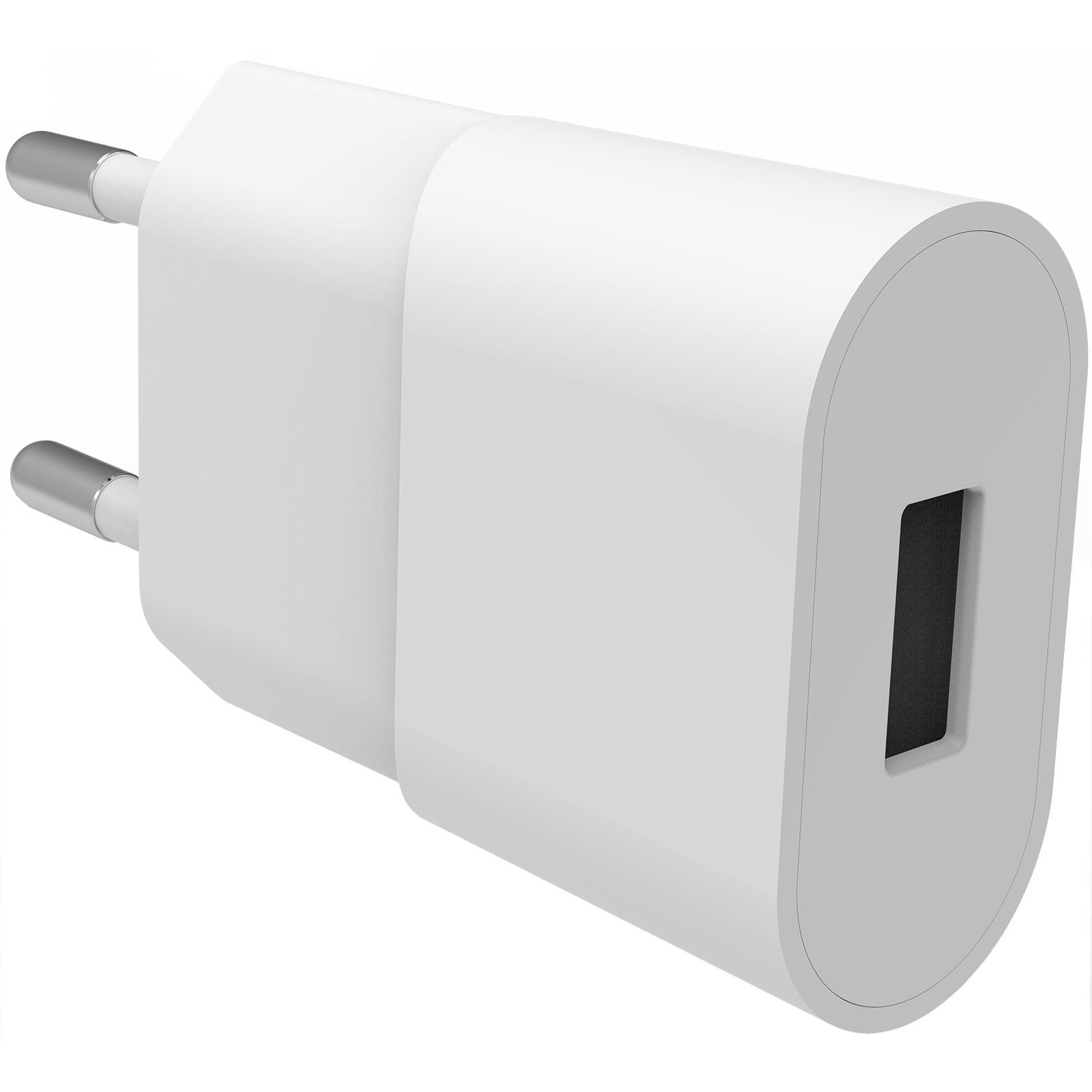 USB Wall Charger 1A valkoinen