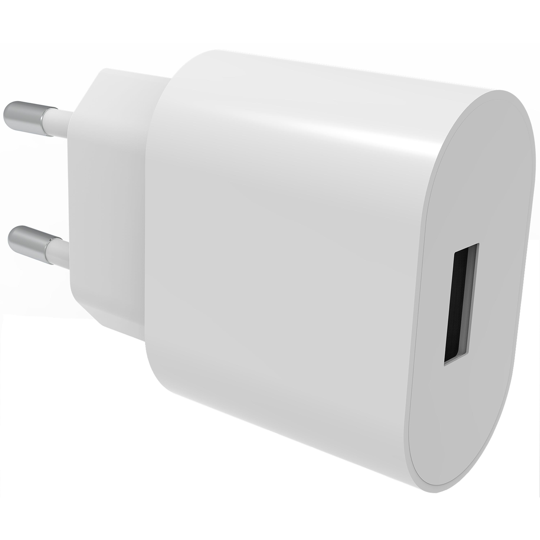 USB Wall Charger 2.4A valkoinen