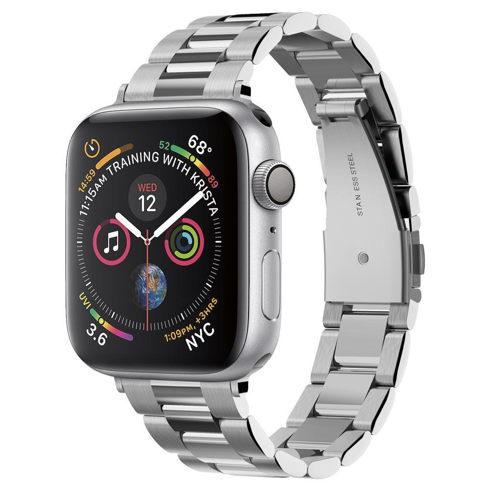Apple Watch 38/40/41 mm Armband Modern Fit Silver