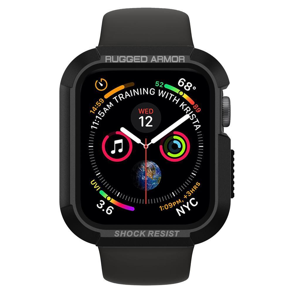 Apple Watch 44mm Case Rugged Armor Black