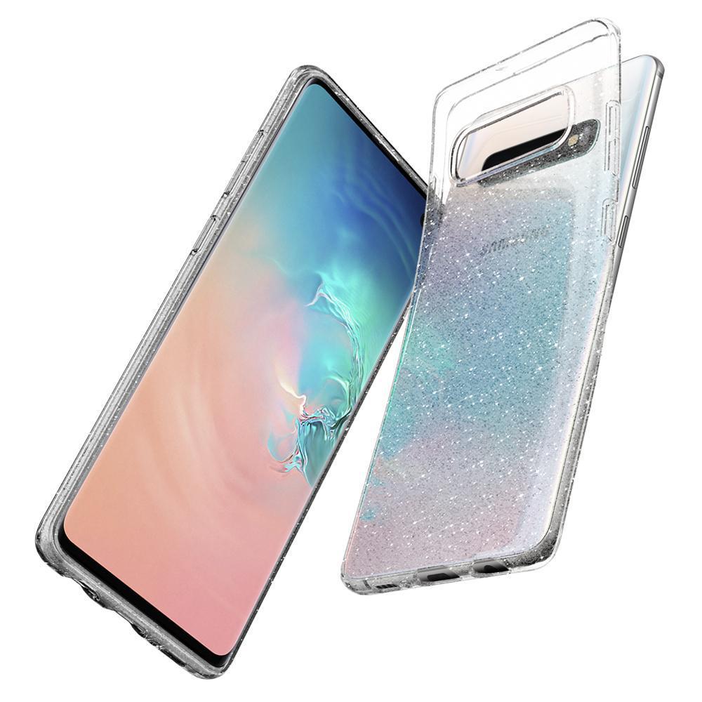 Galaxy S10 Case Liquid Crystal Glitter Crystal