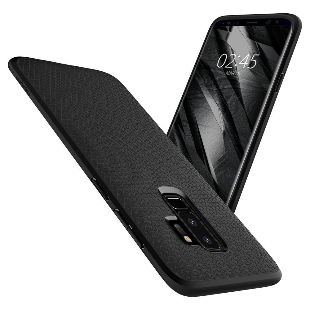 Galaxy S9 Plus Case Liquid Air Black