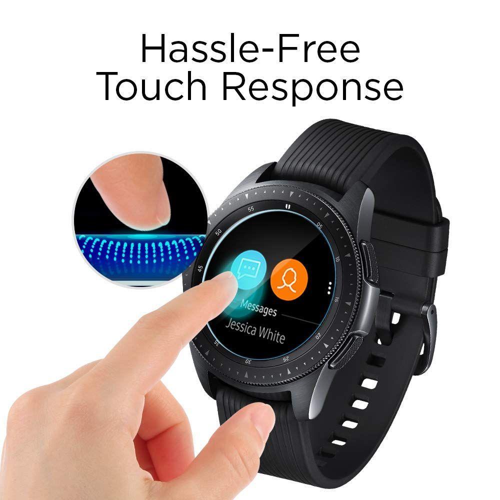 Galaxy Watch 42mm Screen Protector GLAS.tR SLIM (3-pack)