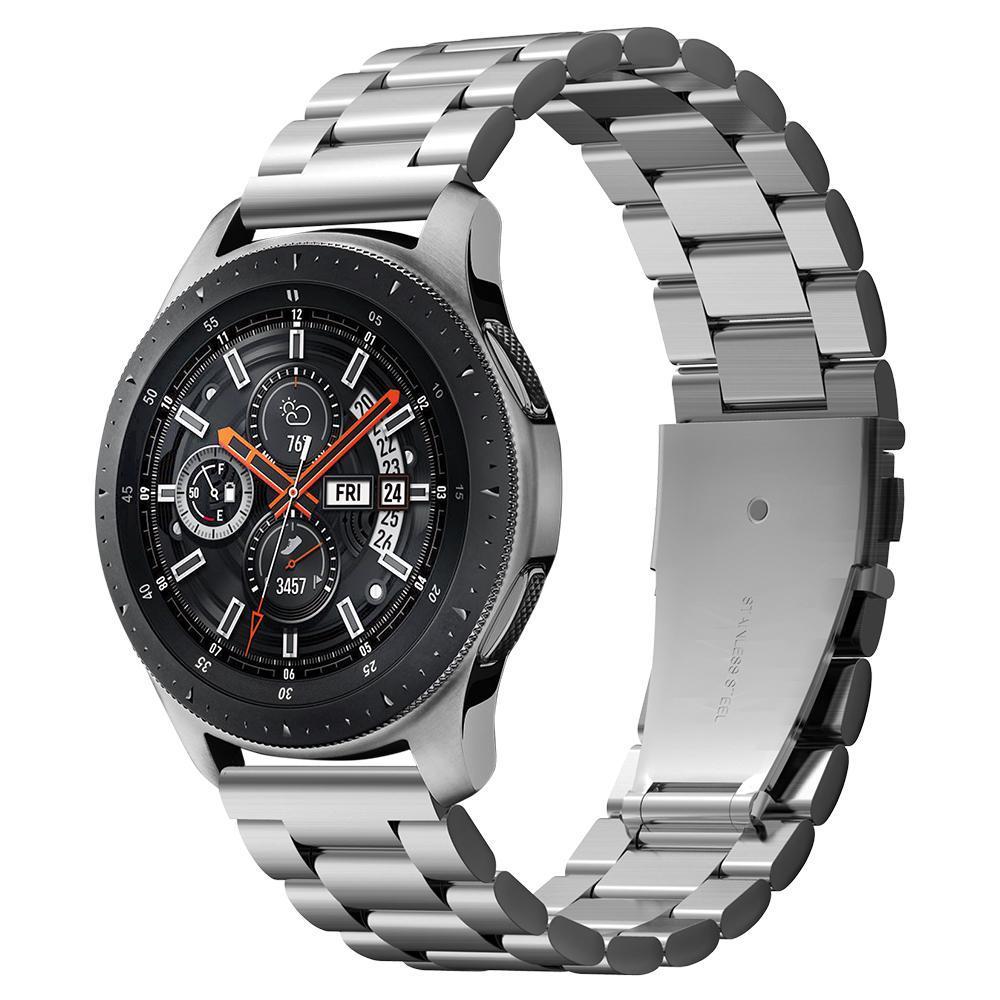 Galaxy Watch 46mm Armband Modern Fit Silver