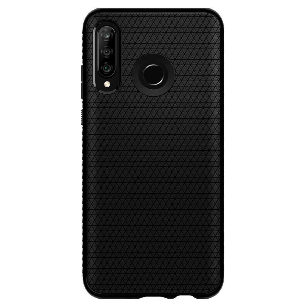 Huawei P30 Lite Case Liquid Air Black