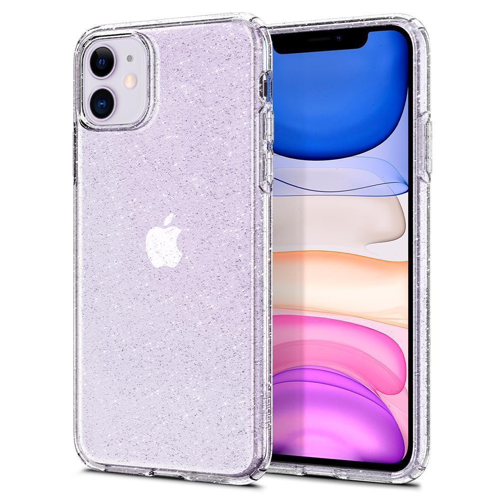 iPhone 11 Case Liquid Crystal Glitter Crystal
