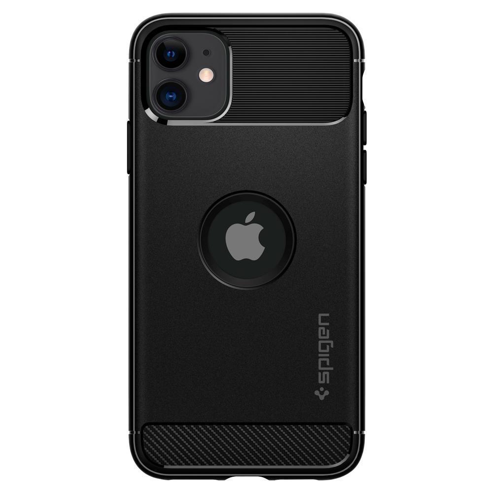 iPhone 11 Case Rugged Armor Black