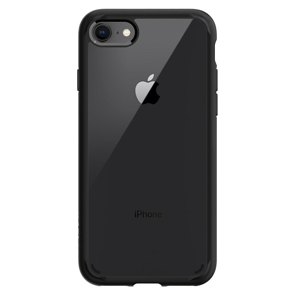 iPhone 7/8/SE 2020 Case Ultra Hybrid 2 Matte Black