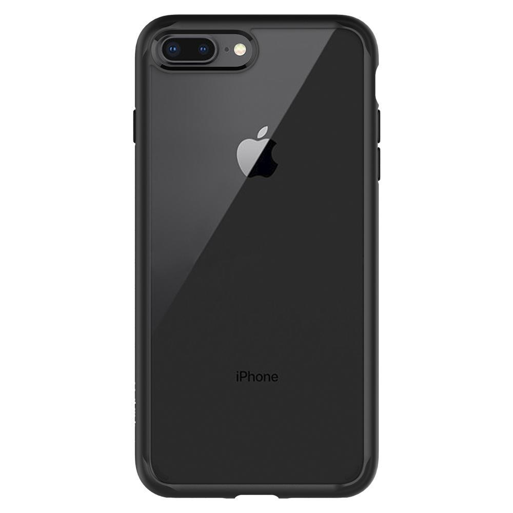 iPhone 7 Plus/8 Plus Case Ultra Hybrid 2 Matte Black
