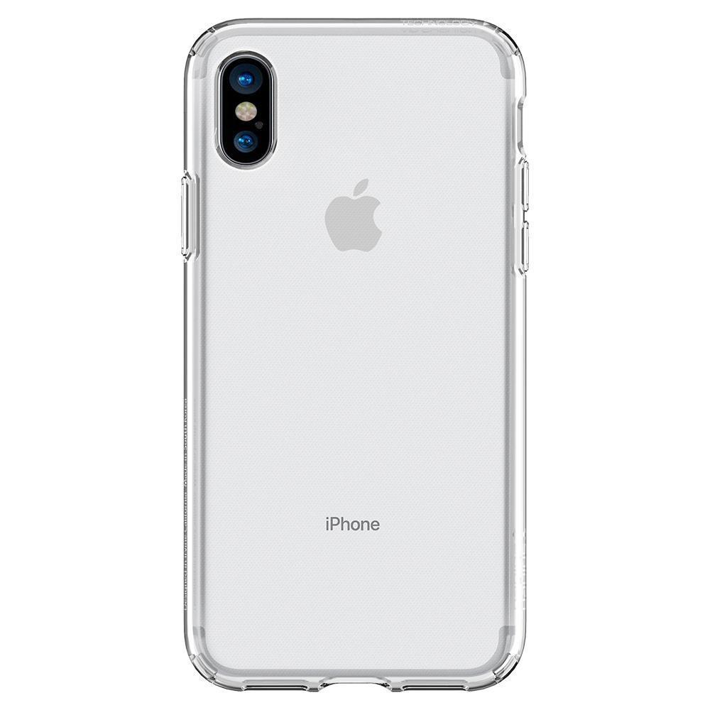 iPhone X/XS Case Liquid Crystal Clear