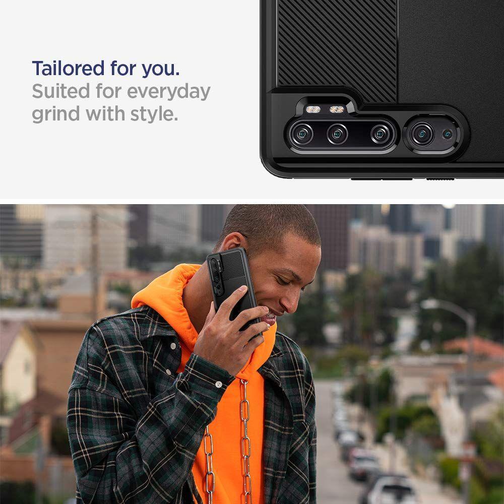 Xiaomi Mi Note 10/10 Pro Case Rugged Armor Black