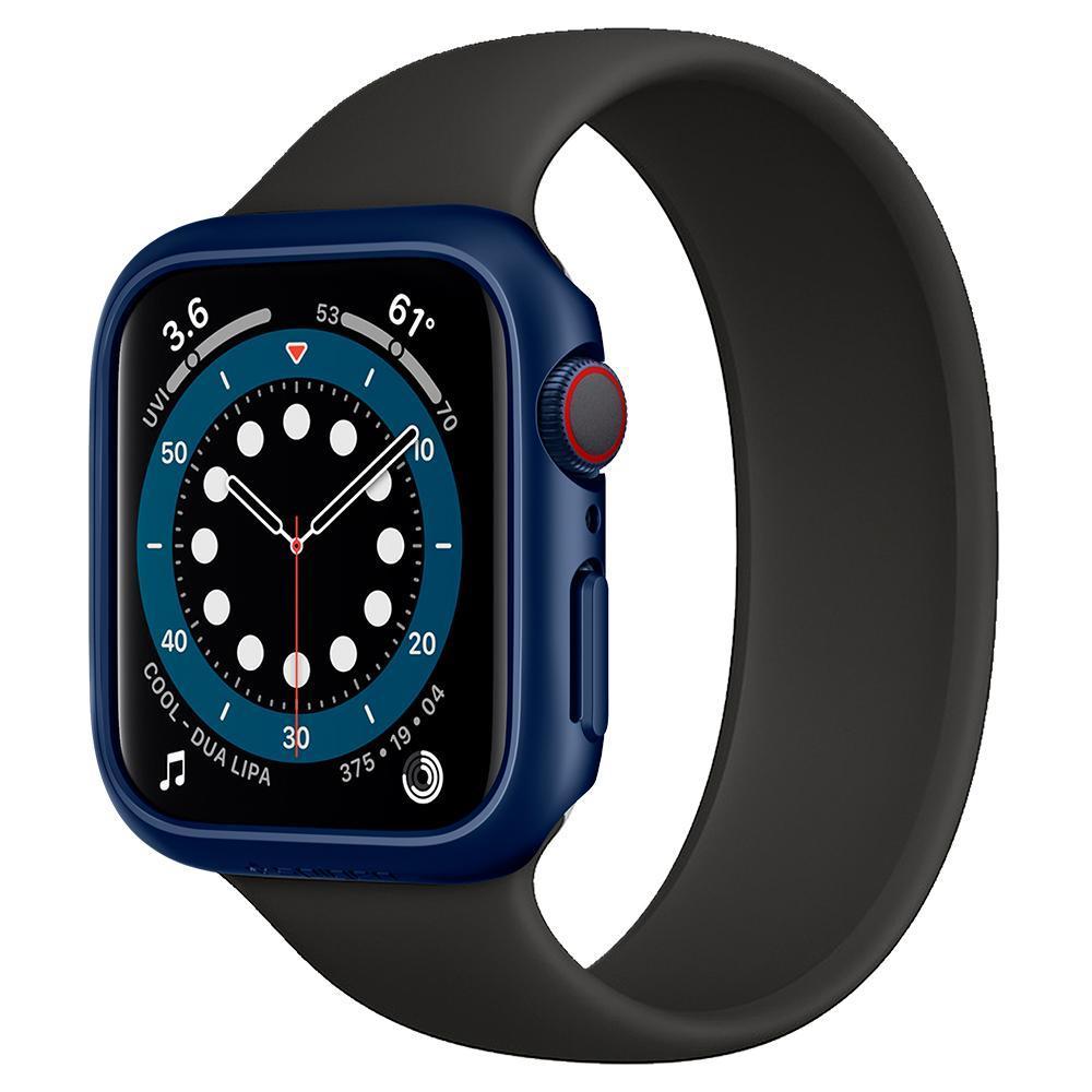 Apple Watch 44mm Case Thin Fit Metallic Blue