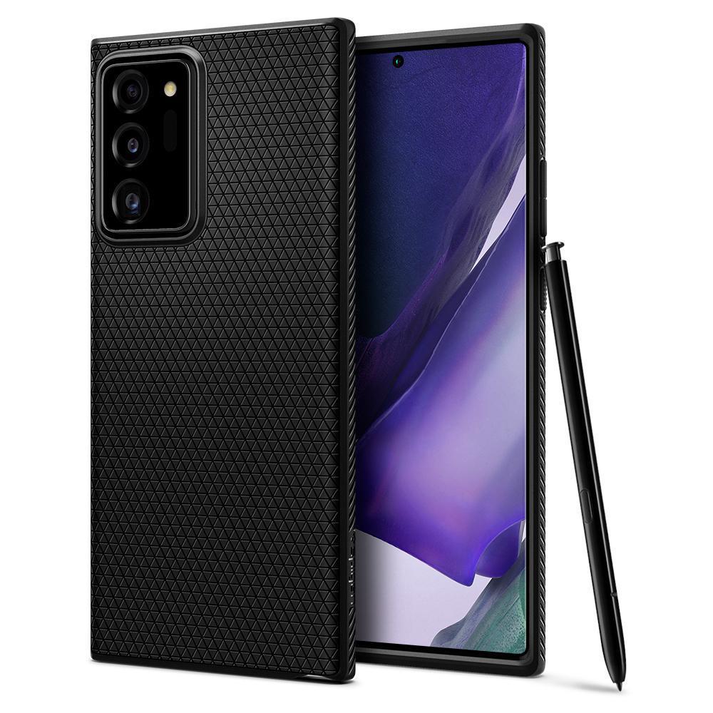 Galaxy Note 20 Ultra Case Liquid Air Black
