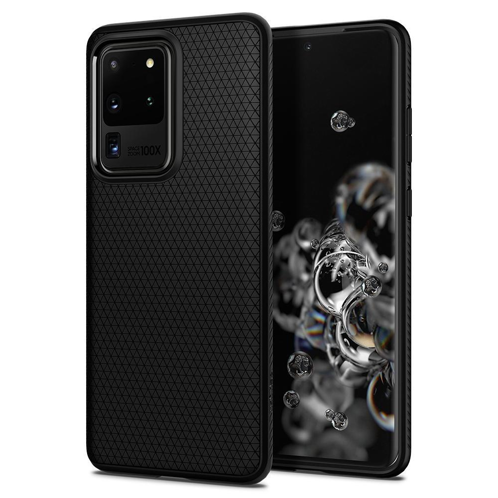 Galaxy S20 Ultra Case Liquid Air Black