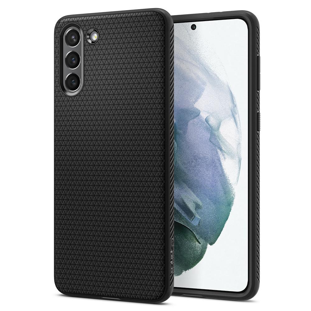 Galaxy S21 Case Liquid Air Black