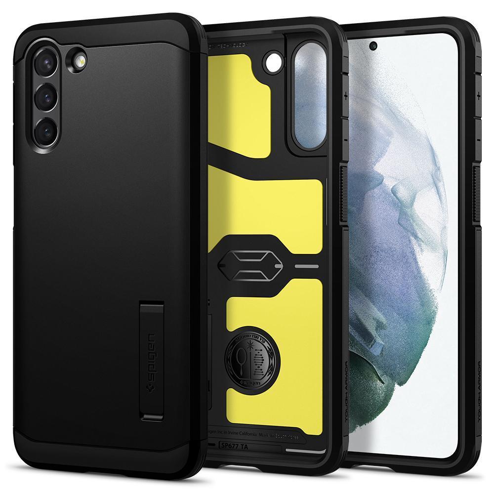 Galaxy S21 Case Tough Armor Black