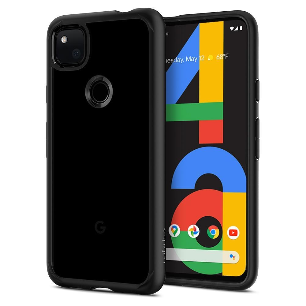 Google Pixel 4a Case Ultra Hybrid Matte Black