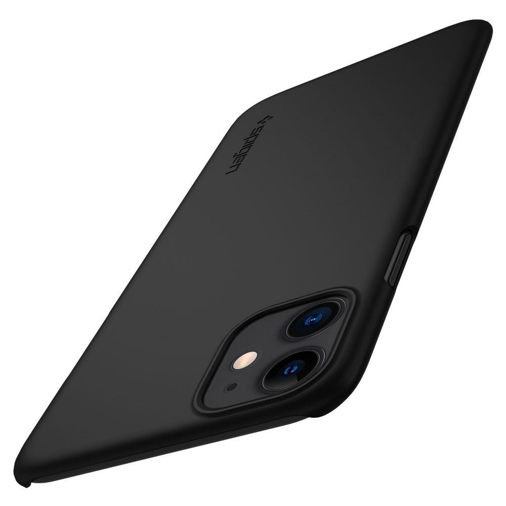 iPhone 11 Case Thin Fit Black