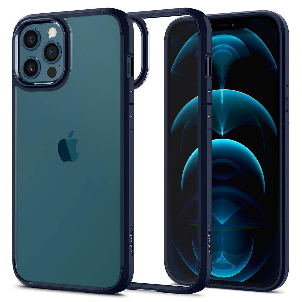 iPhone 12/12 Pro Case Ultra Hybrid Navy Blue