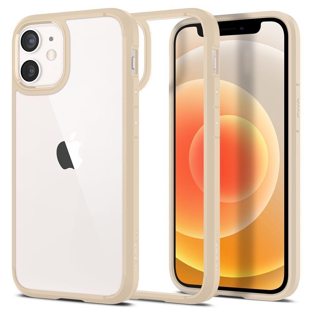 iPhone 12 Mini Case Ultra Hybrid Beige Sand