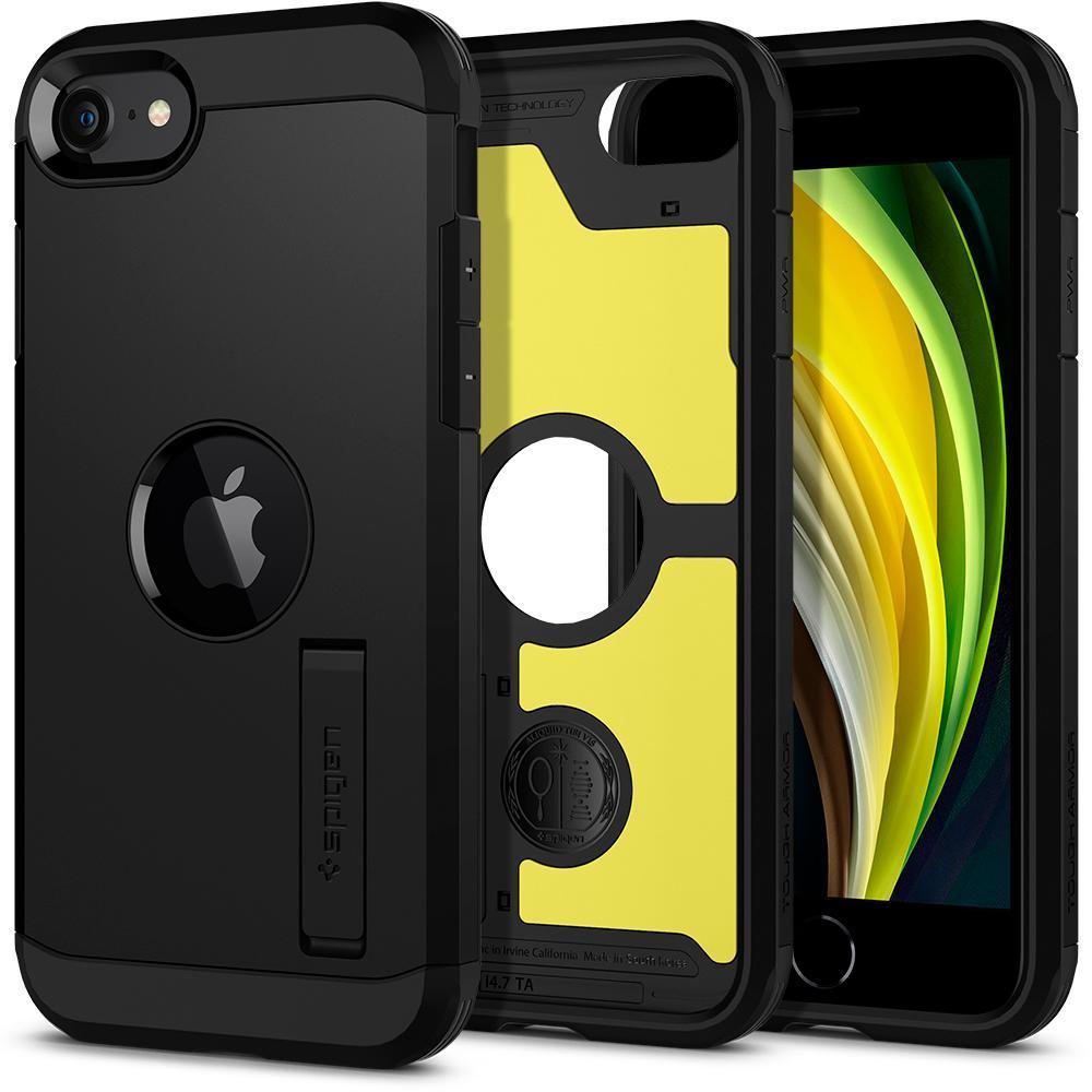 iPhone SE 2020 Case Tough Armor Black