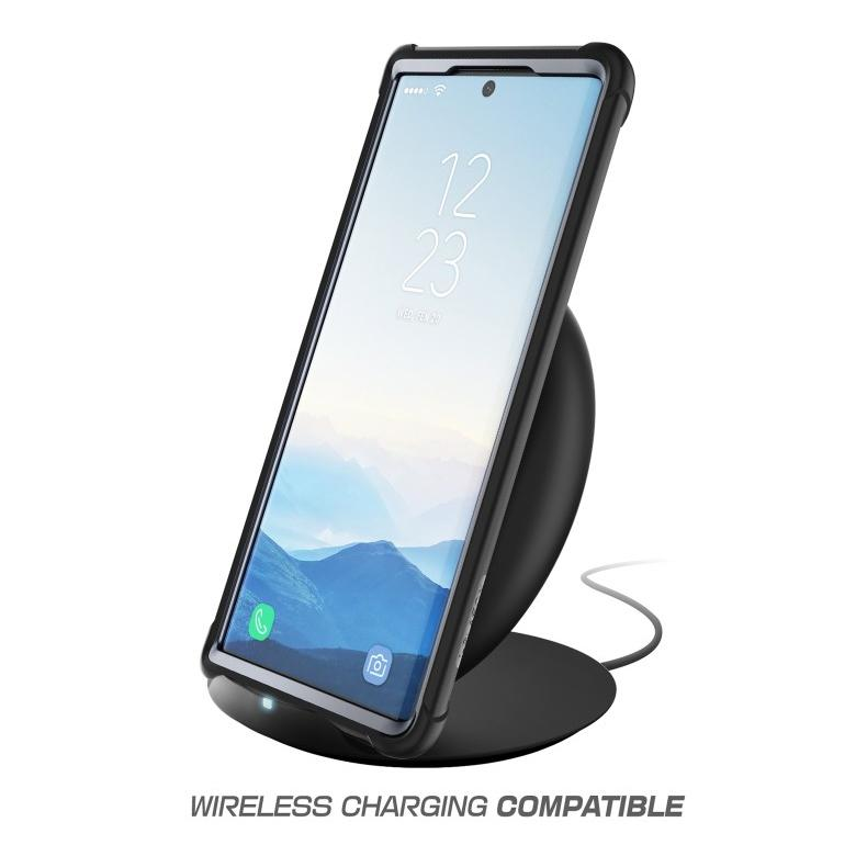 Ares Clear Case Galaxy Note 10 Black