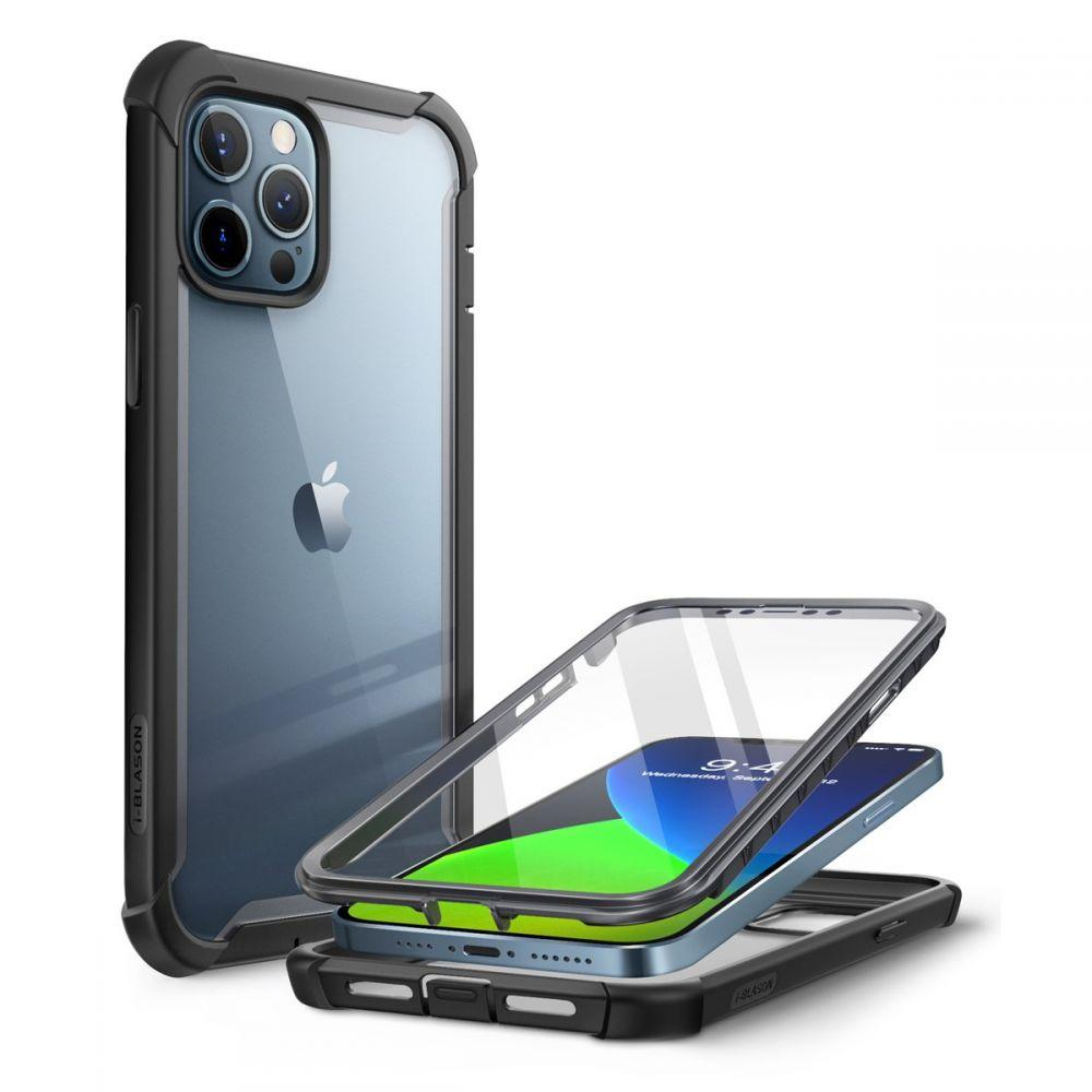 Ares Clear Case iPhone 12/12 Pro Black