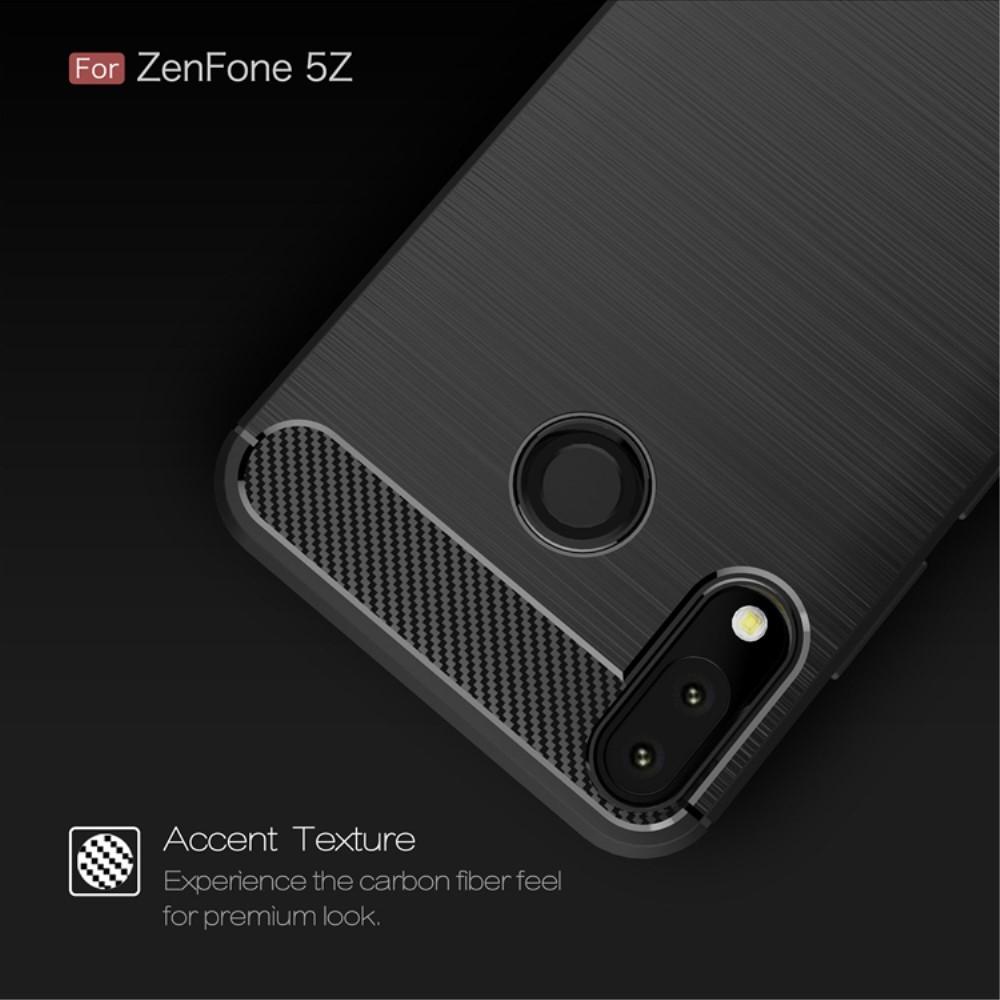 Brushed TPU Kuori for Asus ZenFone 5/5Z black