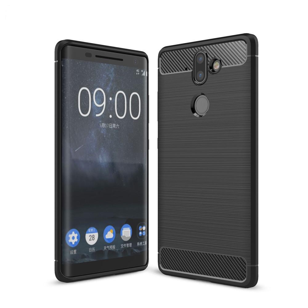 Brushed TPU Kuori for Nokia 8 Sirocco black