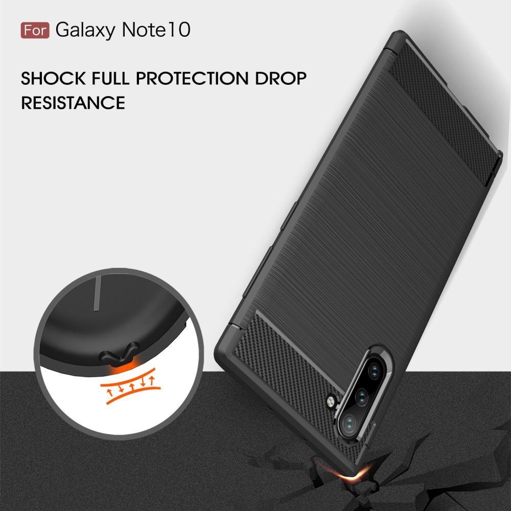Brushed TPU Kuori Galaxy Note 10 Black