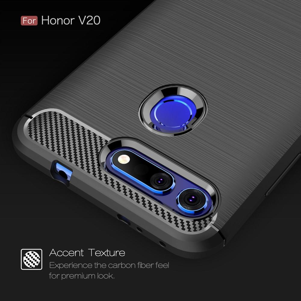 Brushed TPU Kuori Huawei Honor View 20 Black