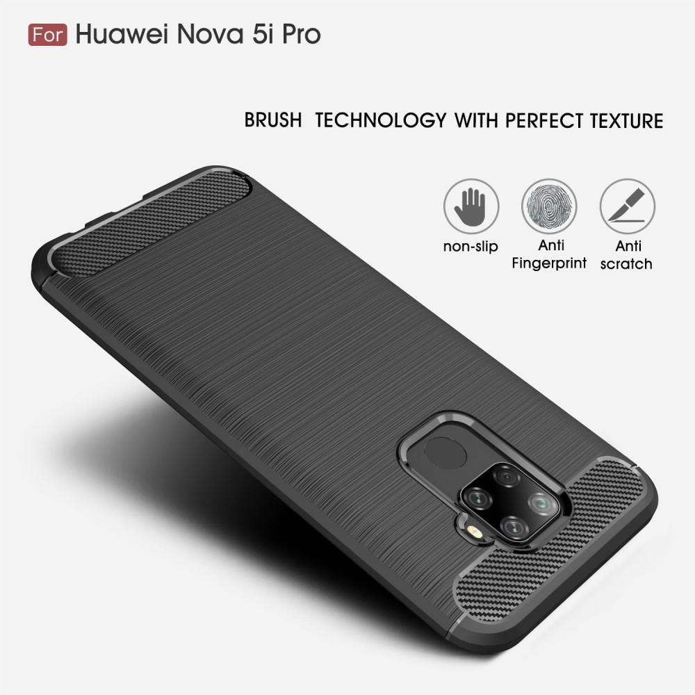 Brushed TPU Kuori Huawei Mate 30 Lite Black
