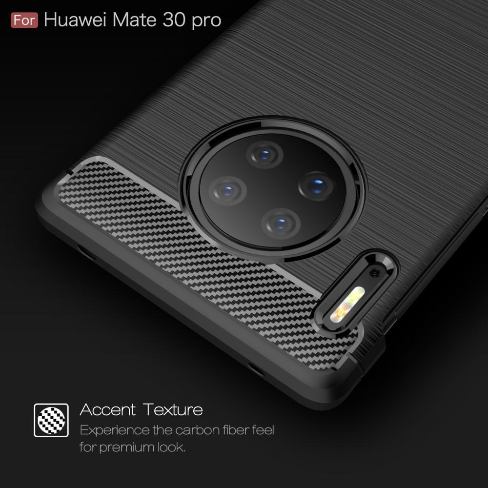 Brushed TPU Kuori Huawei Mate 30 Pro Black