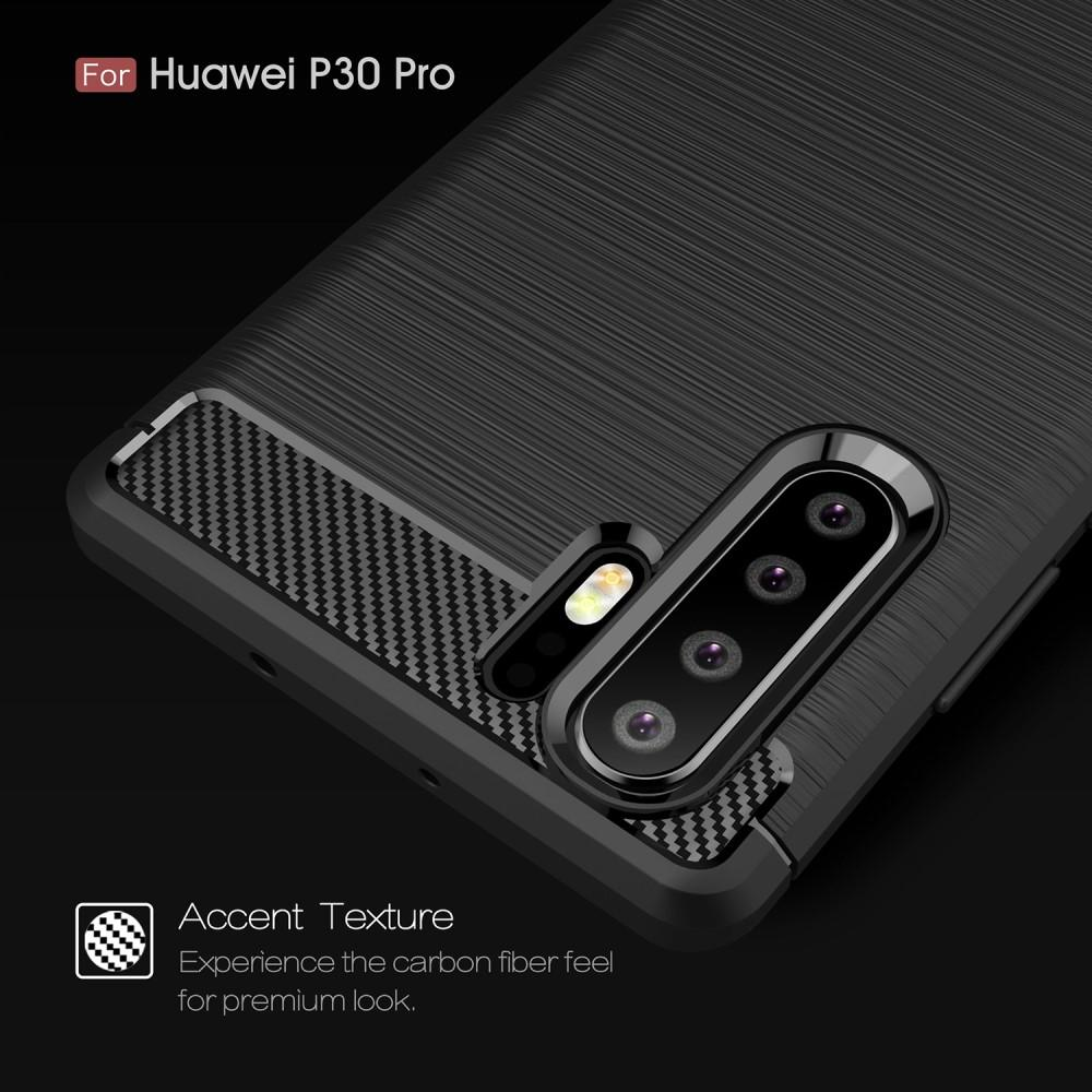 Brushed TPU Kuori Huawei P30 Pro black